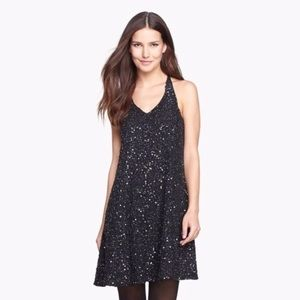 NWT Eileen Fisher Encrusted Silk Sparkle Dress SzS